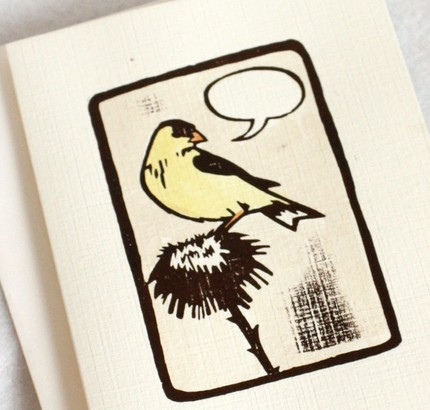 Bird Card by mirkah