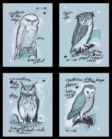 Four Owl Collection  by MATTY8080