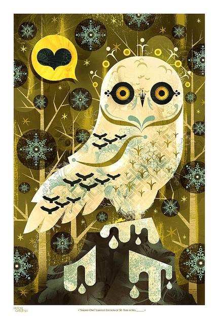 Snowy Owl by acerriteno