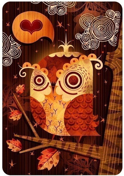 The Enamored Owl  by acerriteno