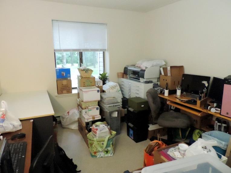 messy new studio